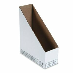 Fellowes Bankers Box Stor file Magazine File White Cardboard 12 Pack