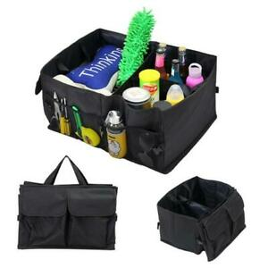 Cargo Organizer Foldable Multi Purpose Storage Box Bag Case For Car Trunk Rv Suv