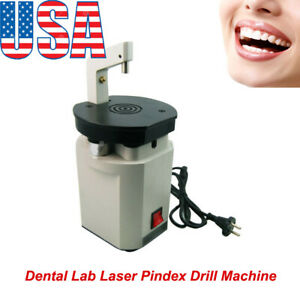 Dental Lab Laser Pindex Drill Machine Pin System Equipment Dentist Driller 110v