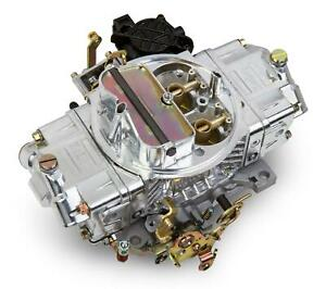 Holley Aluminum Street Avenger Carburetor 4 bbl 670 Cfm Vacuum Secondaries 85670