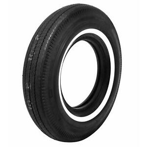 Coker Bfgoodrich Vintage Tire 7 75 14 Bias ply Whitewall 52620 Each