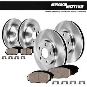 For 2016 2017 Mazda Cx 5 Front And Rear Brake Rotors And Ceramic Brake Pads
