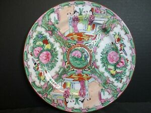 Antique Chinese Famille Rose Medallion Marked 1 Plate 10 1 4