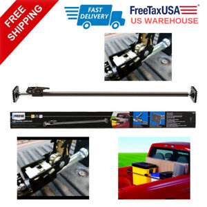 Ratcheting Cargo Bar Adjustable Pickup Truck Bed Holder Stabilizer Truck Bed Acc