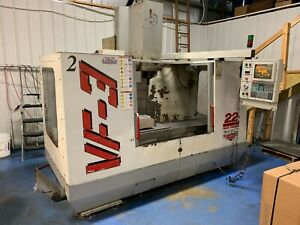 1997 Haas Vf3 W Vector Drive 10000 Rpm Spindle