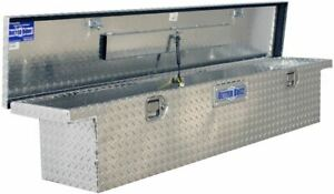 70 Truck Tool Box Pickup Cab Storage Aluminum Low Profile Tools Container New