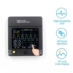 Dso112a Touch Screen Stable Oscilloscope 5msps Digital Storage Handheld Usb Mini