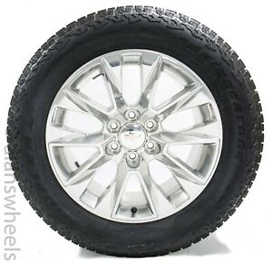 New Takeoff 2019 Chevy Gmc Suburban Tahoe 20 Factory Oem Wheels Rims Tires 5920