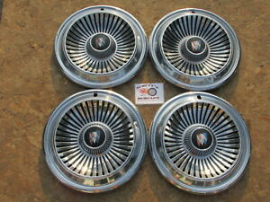 1966 Buick Lesabre 14 Wheel Covers Hubcaps Set Of 4