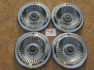 1966 Buick Riviera 14 Wheel Covers Hubcaps Set Of 4
