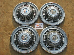 1965 Buick Special 14 Wheel Covers Hubcaps Set Of 4