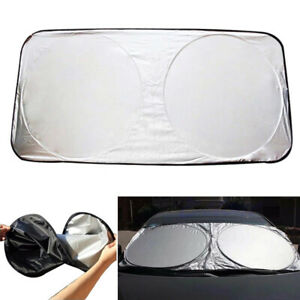 Car Front Rear Window Foldable Visor Sun Shade Shield Windshield Cover
