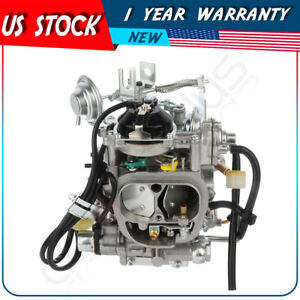 Carby Carburetor For Toyota Pickup 22r 1981 1982 1987 W Green Round Plug