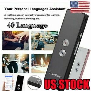 Pro Translaty Enence Smart Instant Real Time Voice 40 Languages Translator Usa