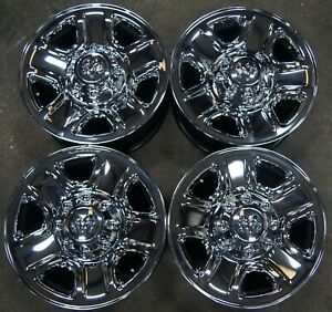 Dodge Ram 2500 3500 Srw Chrome Clad 8 Lug Oem 18 Wheels Rims 2473 1719