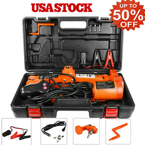Electric Car Floor Jack 3ton All In One Automatic 12v 3t Scissor Lift Jack Us