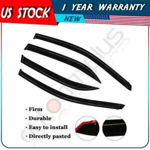 4pcs For 2009 2010 Toyota Corolla Car Window Visors Sun Rain Guard Acrylic