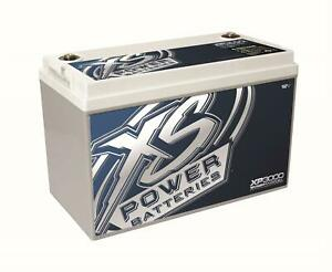 Xs Power Batteries Xp3000 Battery Agm Deep Cycle 12 V Top Terminals Each