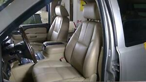 07 08 Gmc Yukon Tahoe Front Seat Set Left Right Cashmere 39i Heated Power