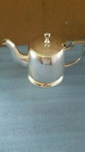 Hotel Style Silverplated Teapot