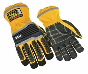 Ringers R 314 Extrication Gloves Cut Resistant Work Gloves Yellow Medium