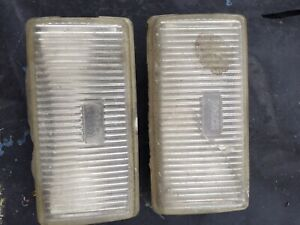 Porsche 944 924s Front Left And Right Pair Fog Lights