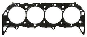 Two 2 Fel Pro Head Gaskets Composition Type 4 380 Bore 053 Comp Bbc