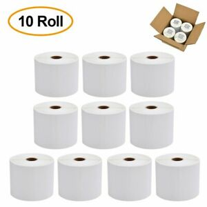 Direct Thermal Shipping Labels 4x6 450 roll For Zebra 2844 Zp450 Eltron Bra Free