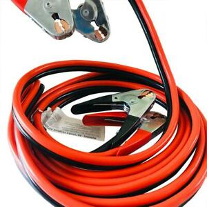 12 25 Ft Battery Jumper Heavy Duty Power Booster Cable Emergency Car Suv Rv