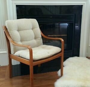 Awesome Signed Mid Century Modern J M Birking Denmark Arm Chair
