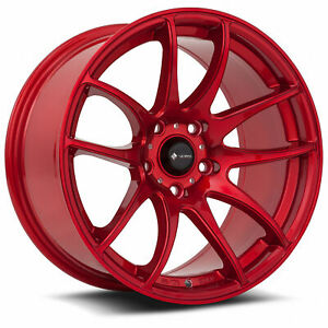 Vors Tr4 18x8 5 5x114 3 35 Candy Red Wheels 4 18 Inch Rims