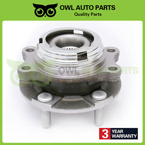 Wheel Bearing Hub Front Left Or Right For 07 12 Nissan Altima W Abs 2 5l 513294