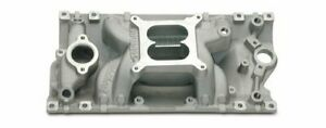 Edelbrock Performer Rpm Air Gap Intake Manifold 7516 Sbc Fits Vortec Heads