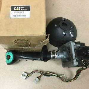 Cat Caterpillar Used 97l5230010 Joystick For Nr4000 Elect Fork Lift Reach Truck