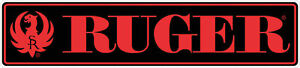 Ruger Gun Logo Vinyl Sticker Decal 9 Long