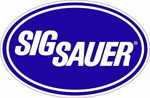 Sig Sauer Gun Ar 15 Ar 15 Tactical Logo Vinyl Sticker Decal 5 X 3