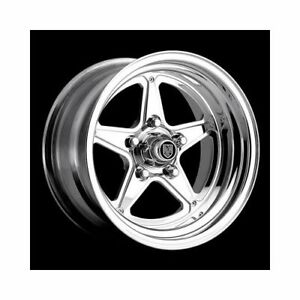 Center Line Wheels Competition Qualifier Polished 15x8 5x4 75 Bc 7215805547