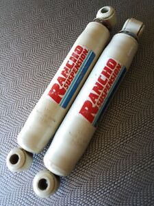 Rancho Rs9000 Shock Absorbers P9122 Never Installed Pair Truck Offroad Shocks
