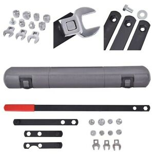 16 Steel Wrench Serpentine Corrosion Resistance Tool Kit Automotive Belt Tension