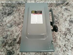 Square D D323n 240vac 100 Amps Ac General Duty Fusible Safety Switch