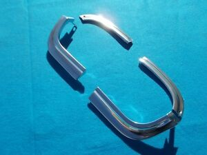 New 1963 Chevrolet Impala Belair Biscayne Ss Front Grill Headlamp Eyebrows