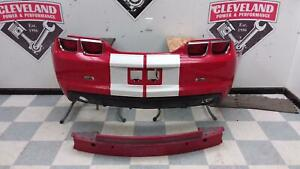 2010 2013 Chevrolet Camaro Ss Oem Rear Bumper Assembly W Park Assist Red