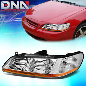 For 1998 2002 Honda Accord 6th Gen Factory Style Headlight Lamp Assembly Left