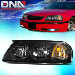 For 2000 2005 Chevy Impala Factory Style Driving Headlight Lamp Assembly Left