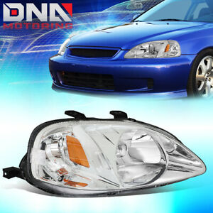 For 1999 2000 Honda Civic Factory Style Driving Headlight Lamp Assembly Right