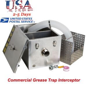 A commercial Grease Trap Interceptor For Restaurant Wastewater Removable Baffles