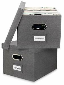 Beautiful File Organizer Box Set Of 2 collapsible Linen Filing Boxes Easy Folder
