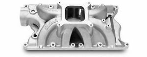 Edelbrock Victor Jr Intake Manold Small Block V8 351 Fits Windsor Heads 2981