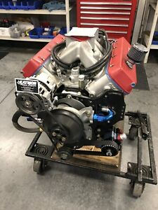 Nascar Dodge Mopar R5p7 Fresh Built Complete Engine Wet Sump Pump Gas 728hp