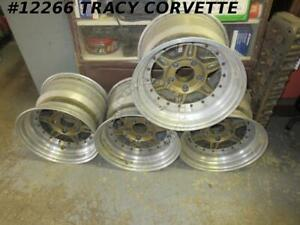 1963 1982 Jongbloed Used Chevy 15x10 5 Lightweight 3 Pc Race Wheels 4 Youngblood